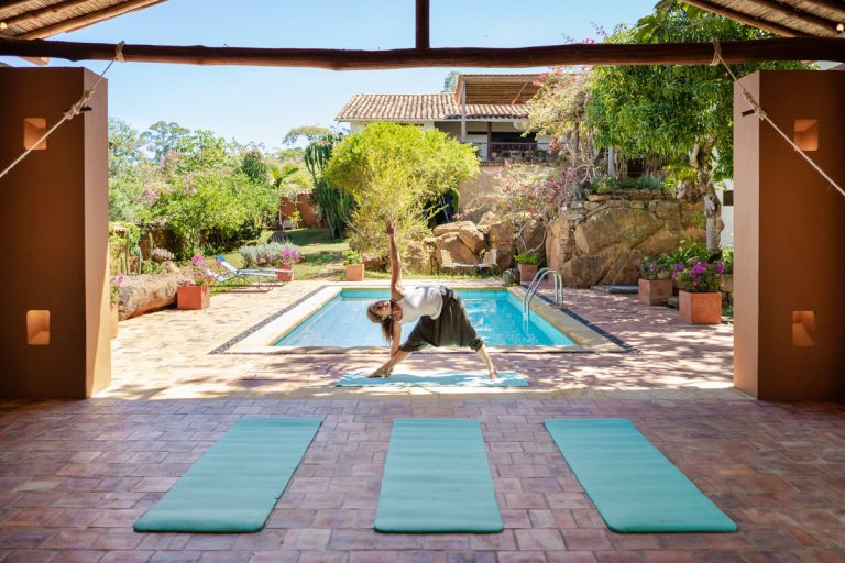 Yoga Classes at Luxury Hotel in Colombia